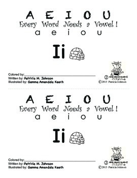 Guided Reading Alphabet Books - Vowel I - Level 2
