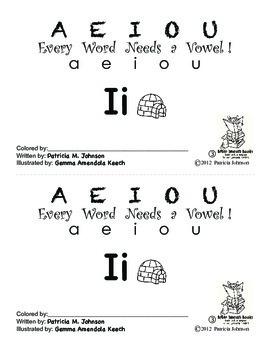 Guided Reading Alphabet Books - Vowel I - Level 3