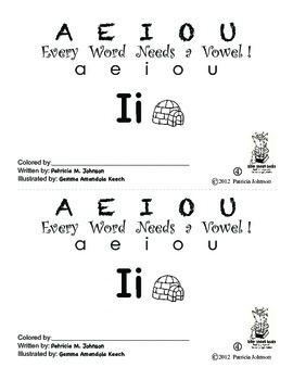 Guided Reading Alphabet Books - Vowel I - Level 4