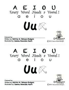 Guided Reading Alphabet Books - Vowel U - Level 1