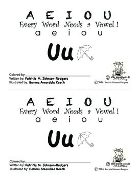 Guided Reading Alphabet Books - Vowel U - Level 2