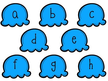 Guided Reading Alphabet Recognition Game -Kiddie Creations