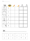 Guided Reading Alphabet Work