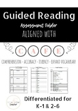 Guided Reading Assessment Folder: Aligned to CAFE