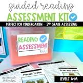 Guided Reading Level Assessment Kit