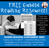 Guided Reading Assessment Rubric and Student Grid
