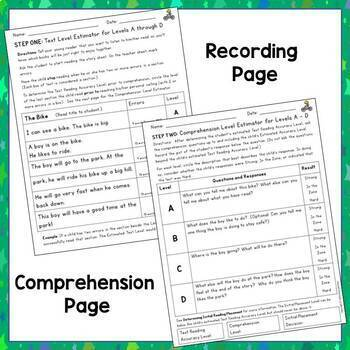 Guided Reading Assessment Toolkit: Levels A - P  {Benchmark Assessment, Set Two}