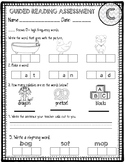 Guided Reading Assessments A-K and skills checklists (Kinder and first grade)