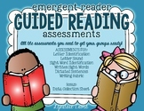 Guided Reading Pre-Assessment Tool Kit for Emergent Readers