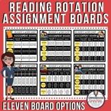 Reader's Workshop Rotation Board using Google Slides TM