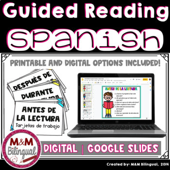 Guided Reading *BILINGUAL Before, During, and After Reading* Resource