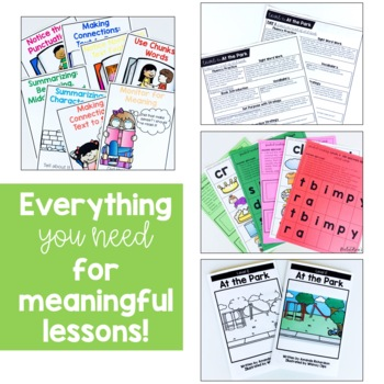 Paper & Digital Guided Reading First Grade BUNDLE | Distance Learning:Levels E-J