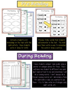 Back to School - Guided Reading (First Grade)