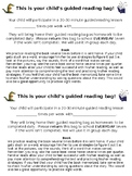 Guided Reading Bag Note