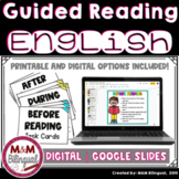 Guided Reading *Before, During, and After Reading* Resource