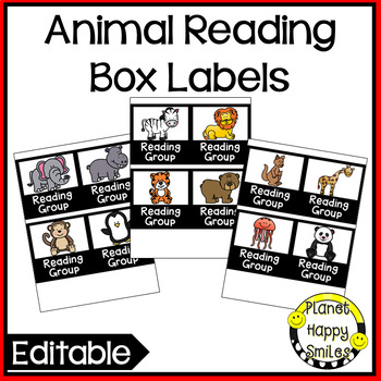 Guided Reading Bin Labels, Planner, and Binder with Spines
