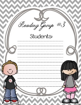 Guided Reading Binder Dividers