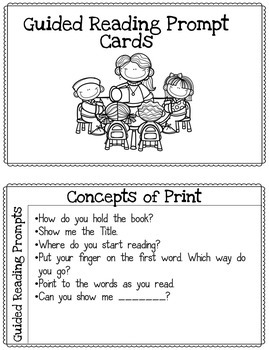 Guided Reading Binder Editable