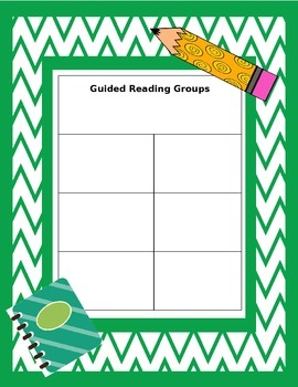 Guided Reading Binder Cover