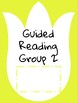 Guided Reading Binder Covers-Tulips