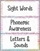 Free Guided Reading Binder Covers and Folder Labels for Levels AA-D