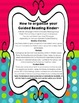 Guided Reading Binder - Dots on Turquoise Theme
