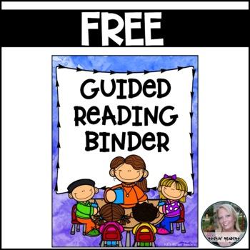 Guided Reading Binder FREEBIE