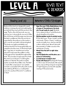 Guided Reading Binder {K-2nd)