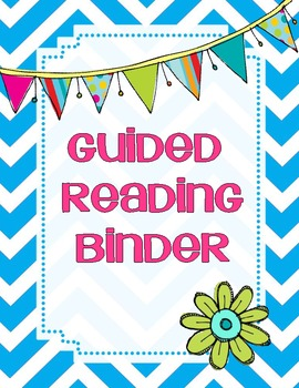 Guided reading binder kit by k 3 connection teachers pay teachers for Reading binder cover