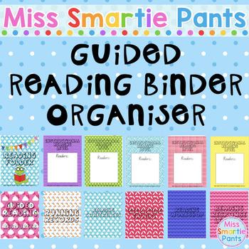 Guided Reading Binder Organiser