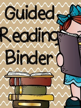 Guided Reading Binder {Organize Your Guided Reading Time}