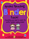 Guided Reading Binder Pack-Common Core Aligned