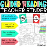 Guided Reading Binder and Guided Reading Guide