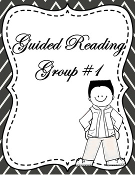 Guided Reading Binder Pages - Includes Comprehension, Accuracy, and Fluency
