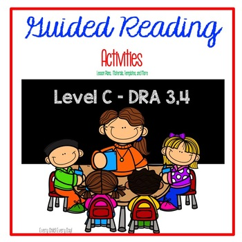 Guided Reading Binder - RTI Activities - Level C - DRA 3,4