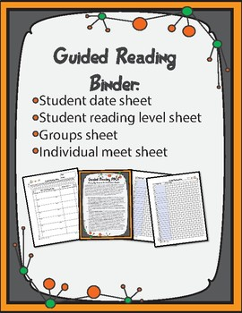 Guided Reading Binder Set 1