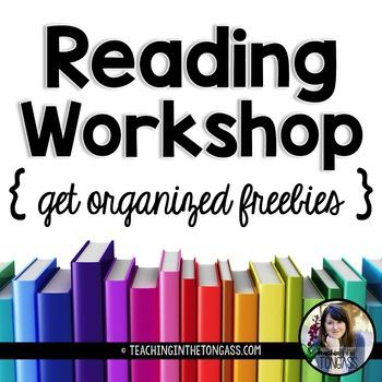 Reading Workshop {Get Organized}