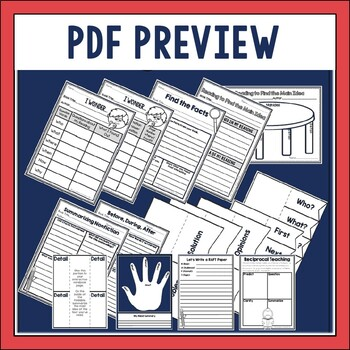 Guided Reading Binder Bundle in DIGITAL and PDF formats