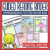 Guided Reading Binder in DIGITAL and PDF formats