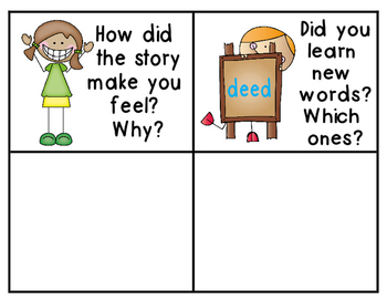 Guided Reading {Bloom's Question Cards}