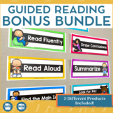 Guided Reading Blueprint: 9 Steps to Creating Independent Readers Bonus Bundle