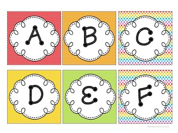 Guided Reading Book Basket Labels