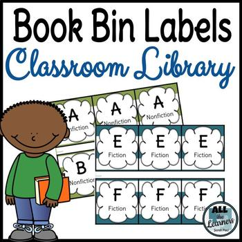 Guided Reading Book Bin Labels (Classroom Library)