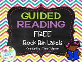 Guided Reading Book Bin Labels (FREEBIE)