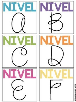 Book Bin Labels: Guided Reading (Spanish Version)