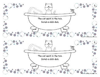 Guided Reading Book-In the Tub