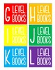 Guided Reading Book Labels A-Z