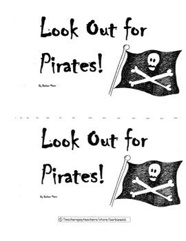 Guided Reading Book: Level D: Look Out for Pirates!  Includes Word Cards/L.Plan
