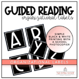 Guided Reading Book Level Labels