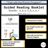 Guided Reading Book - Listes de mots 1-3